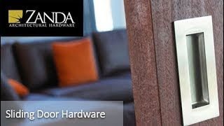Video - Zanda Sliding Door Handles