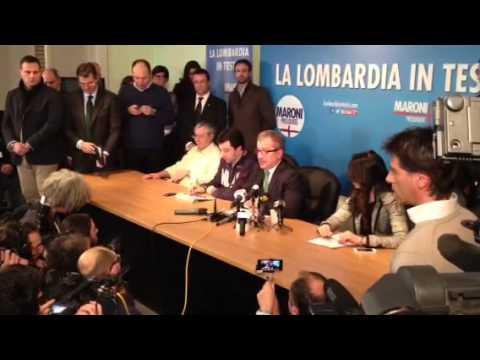 Maroni conferenza stampa 3