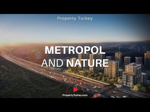 Central Maslak Homes Stunning Nature Views