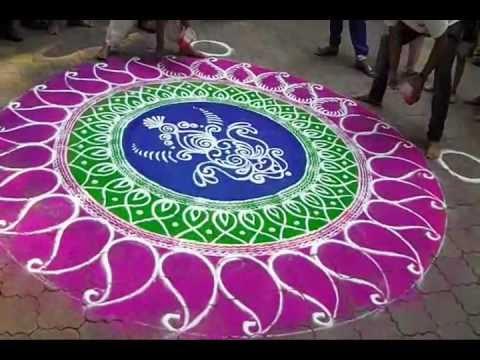 beautiful rangoli designs by gopal