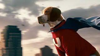流浪狗意外获得超能力,变身超狗拯救世界,6分钟看完科幻喜剧片《超狗任务》