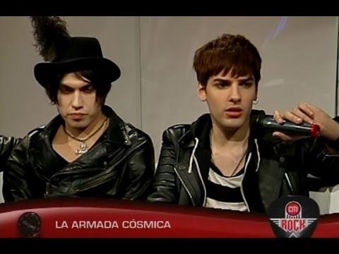 La Armada Cósmica video Entrevista CM Rock - Abril 2015