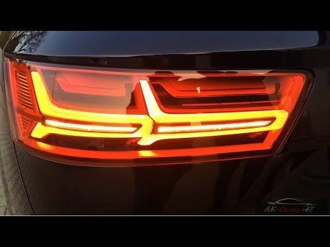 Dynamische Blinker | AUDI Q7 4M | Spiegelblinker | Scheinwerfer