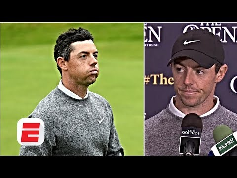 Rory McIlroy misses cut but still 'unbelievably proud' of performance   The Open Championship