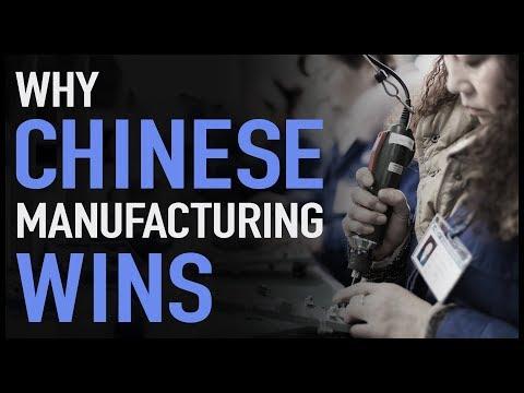 Proč továrny v Číně vítězí?