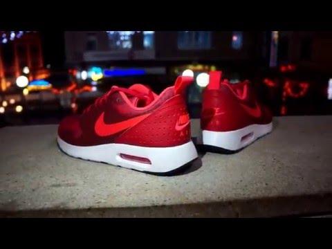 Nike Air Max Tavas Print  University Red