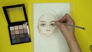 Face Chart   How To Create Skin Color