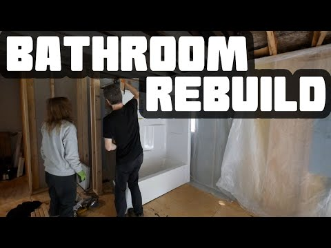 Bathroom Rebuild Begins | Home Renovation #52