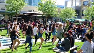 Bruno Mars Uptown Funk Cops Flash Mob