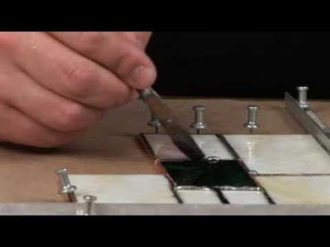 How to Solder Your Stained Glass | Delphi Glass