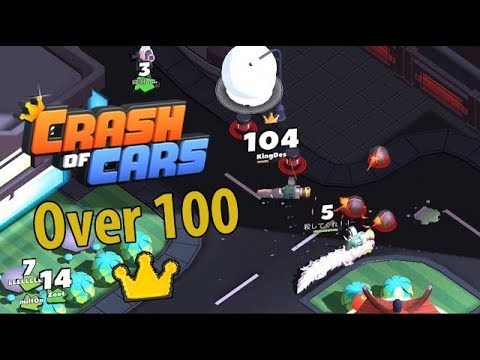 Crash Of Cars World Record !! 100 + Crowns With Common Car