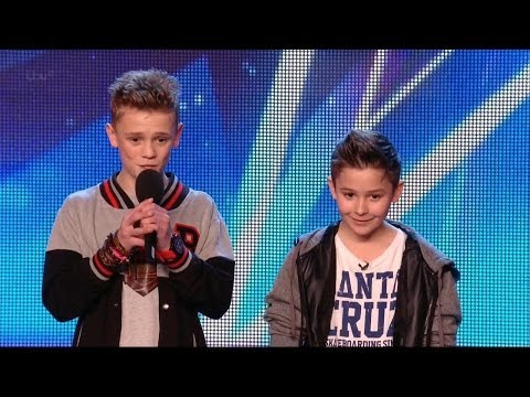 Britain's Got Talent S08E05 Bars & Melody Duo Rap an original anti-bullying song Simon surprise