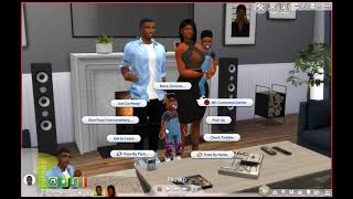 Sims 4 Family Pose | Tutorial