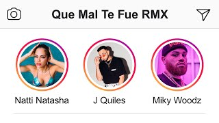 "Natti Natasha – Que Mal Te Fue ""Remix"" ft. J Quiles, Miky Woodz [Official Video]"