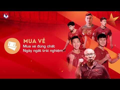 Hướng dẫn mua vé online trên ứng dụng VinID trận Việt Nam - Malaysia