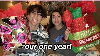 ONE YEAR & CHRISTMAS GIFT EXCHANGE | Our Story