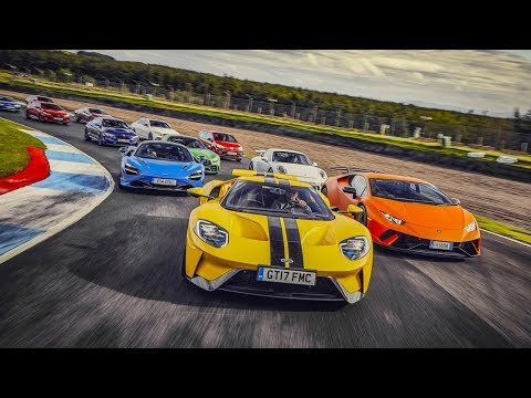Performance Car Of The Year 2017 Trailer | Top Gear