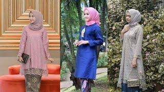 Model Baju Kurung Terbaru Berbagai Pilihan Motif Brokat Batik Dll