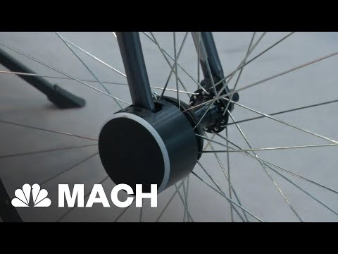 Keep Your Bike Secure With A Smart Bike Lock | Mach | NBC News
