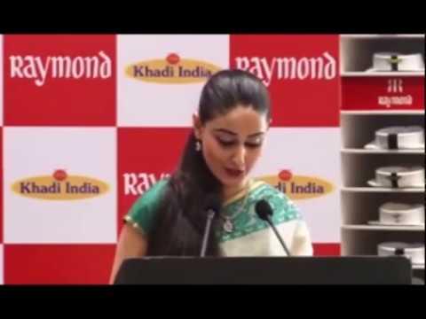 Hosting the Raymond KVIC Press Meet with Shri Gautam Hari Singhania