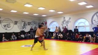 Бой без правил кыргыз-узбек