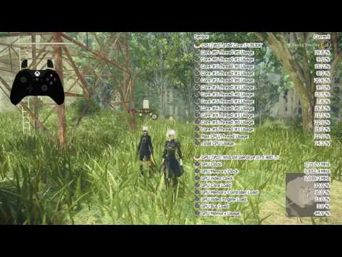 NieR:Automata is well optimized(good port) & just taxing