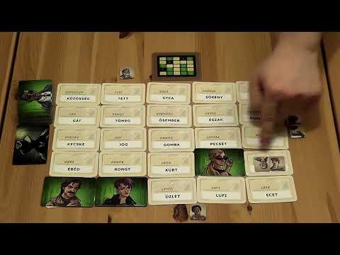 Fedőnevek Négyszemközt társasjáték - d3meeples