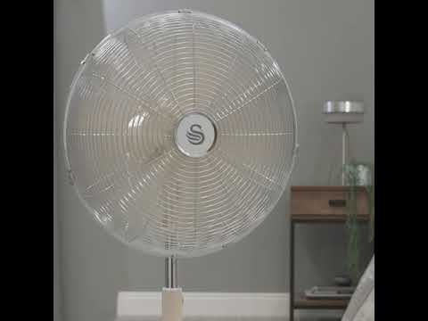 Swan Retro 16 Inch Stand Fan – Cinemagraph
