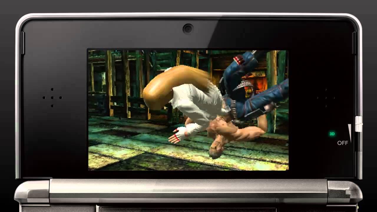 Tekken In 3D. For Your 3DS.