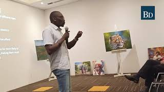 Kenyan art 'scout' and founder of Little Art Gallery talks on 'The