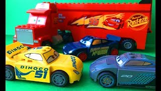 Тачки 3 Собираем Лего Мультики про Машинки Все серии Cars 3 Lego #2
