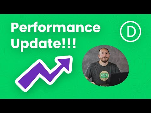 The Huge Divi Performance Update Explained