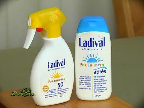 Ladival - Efikasna zaštita od sunca, Zdravo jutro,  Nevena Nikolić