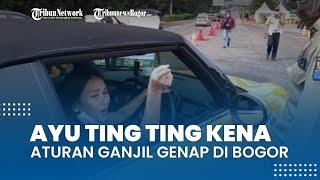 Ayu Ting Ting Terkena Aturan Ganjil Genap di Bogor, Petugas: Awalnya Nggak Ngeh, Mobilnya Mencolok