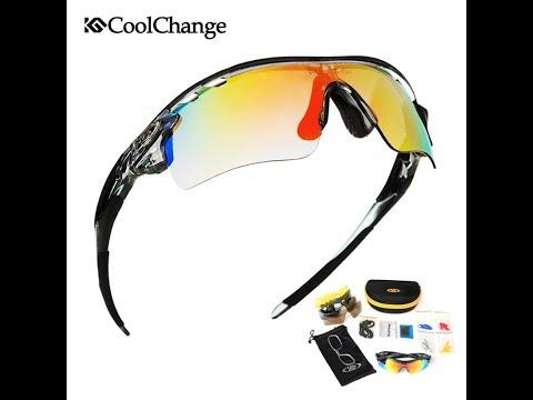 10c2088167 Gafas deporte ciclismo, UV400, intercambiable, 5 lentes, 1 polarizado, 25  estilos
