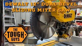 Dewalt 12in Sliding Miter Saw DWS779: Setup & Review