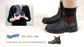 preview picture of video 'Blundstone 500 Soft Toe Boot'