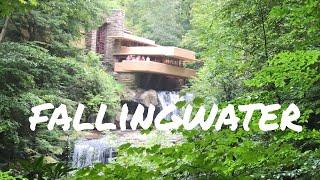 FALLINGWATER - TOUR Of FRANK LLOYD WRIGHTS ACHITECTURE - Vlog