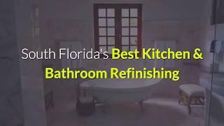 Bathroom & Kitchen Refinishing, Resurfacing