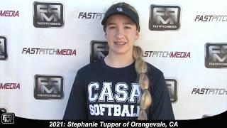 2021 Stephanie Tupper Shortstop Softball Skills Video - AASA Merrida 18 Gold
