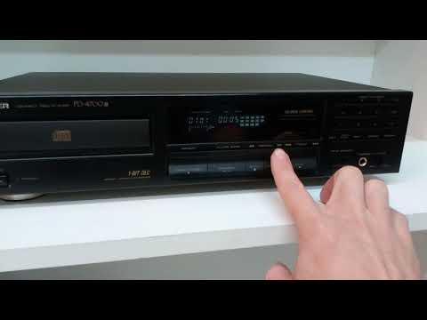 Pioneer PD-4700 HIfi CD lejátszó PD4700 (meghosszabbítva: 2688290975) - Vatera.hu Kép