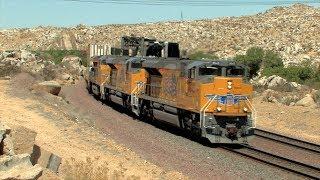 HD: Cajon Subdivision Railfanning In March 2014