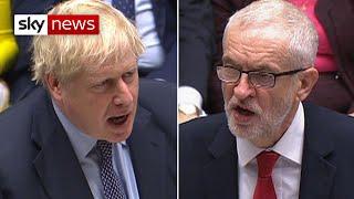 Brexit vote: Boris Johnson v Jeremy Corbyn | In full