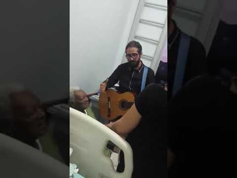 Oração no Hospital em Anta Gorda/RS.
