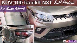 2017 Mahindra Kuv 100 nxt K2 Base Model Interior,Exterior Review