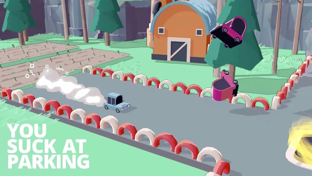 停+賽車遊戲《你停車技術爛到家》(You Suck at Parking)公開最新宣傳片。 Maxresdefault