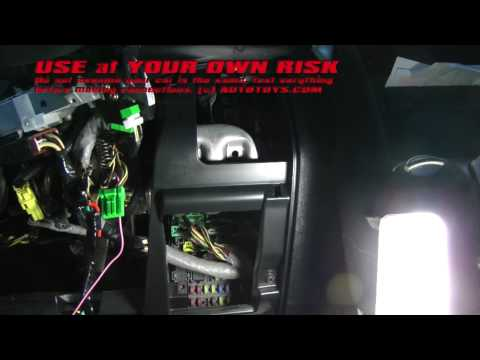 HONDA CRV 2004 REMOTE START INSTALLATION UNCUT USE AT YOUR OWN RISK