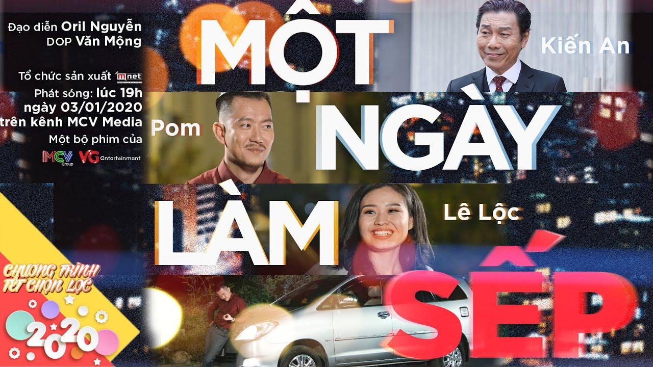 MỘT NGÀY LÀM SẾP | Pom, Tiết Cương, Lê Lộc, Bửu Đa, Kiến An | Phim Tết 2020