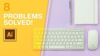 ANNOYING Illustrator Problems ((SOLVED))