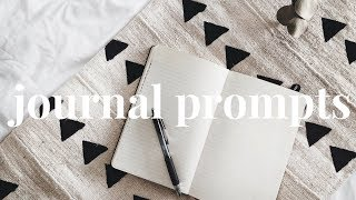 Journaling Prompts and Ideas #1 | What to Write in a Journal